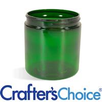 08 oz Green Basic Plastic Jar - 70/400