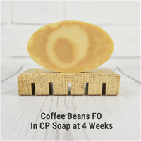 Coffee Beans FO in CP Soap