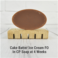 Cake Batter Ice Cream FO in CP Soap