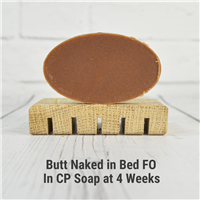 Butt Naked in Bed FO in CP Soap