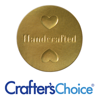 Handcrafted Seal/Label - Gold Embossed