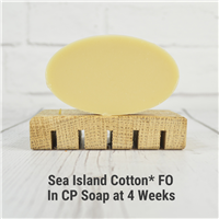 Sea Island Cotton* FO in CP Soap