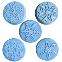 Snowflake Guest Soap Mold (MW 17)