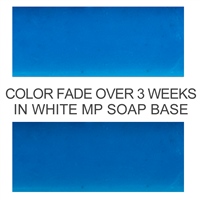 Bath Bomb Blue Powder Color