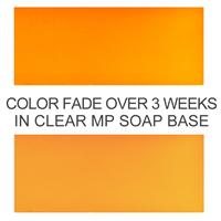 Bath Bomb Yellow Powder Color