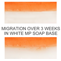 Bath Bomb Orange Powder Color