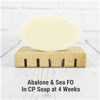 Abalone & Sea FO in Cold Process Soap