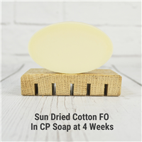 Sun Dried Cotton FO in CP Soap