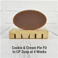 Cookie & Cream Pie FO in CP Soap