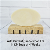 Wild Currant & Sandalwood FO in CP Soap