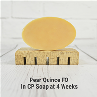Pear Quince FO in CP Soap