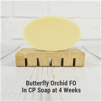 Butterfly Orchid FO in CP Soap