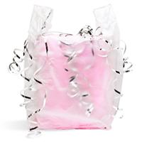"Semi Clear Handled Bag (12"" x 7"" x 22"")"