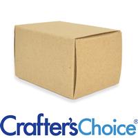 """Basic Kraft Box (4"""" x 3"""" x 2.5"""")"""