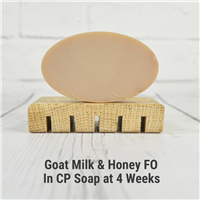 Goat Milk & Honey FO in CP Soap
