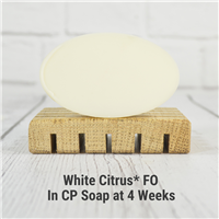 White Citrus* FO in CP Soap