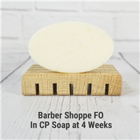 Barber Shoppe Fragrance Oil in CP Soap