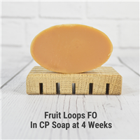 Fruit Loops FO in Cold Process Soap