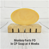 Monkey Farts FO in CP Soap