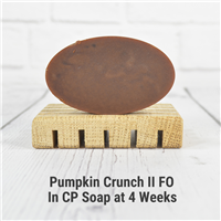 Pumpkin Crunch II FO in Cold Process Soap