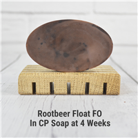 Rootbeer Float FO in CP Soap