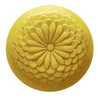 Chrysanthemum Round Soap Mold (MW 32)