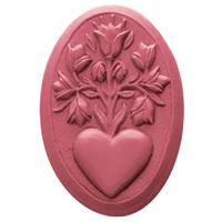 Heart Blossoms Soap Mold (MW 354)