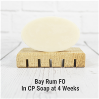 Bay Rum FO in Cold Process Soap