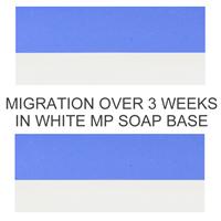 Matte Cobalt Blue Soap Color Blocks