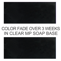 Matte Black Soap Color Blocks