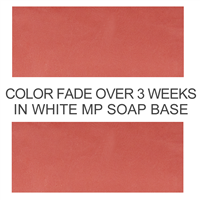 Matte Americana Red Soap Color Blocks