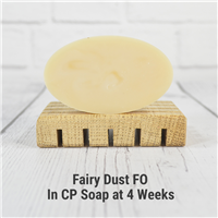Fairy Dust FO in Cold Process Soap