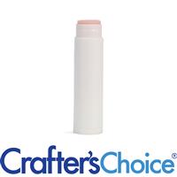 0.15 oz White Lip Tube Only - Round