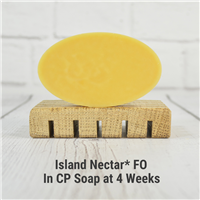 Island Nectar* FO in CP Soap