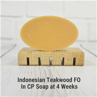 Indonesian Teakwood FO in CP Soap