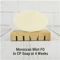 Moroccan Mint FO in CP Soap