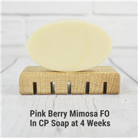 Pink Berry Mimosa FO in CP Soap