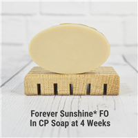 Forever Sunshine in Cold Process Soap