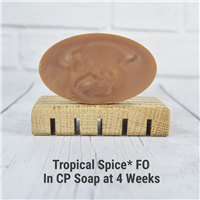 Tropical Spice* FO in CP Soap