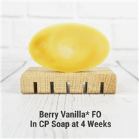 Berry Vanilla* FO in CP Soap