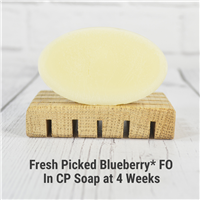 Fresh Picked Blueberry FO in Cold Process Soap