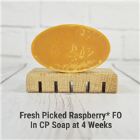 Fresh Picked Raspberry* FO in CP Soap