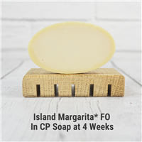 Island Margarita* FO in CP Soap