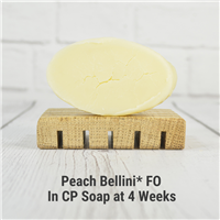 Peach Bellini* FO in CP Soap