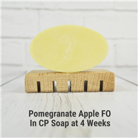 Pomegranate Apple FO in CP Soap