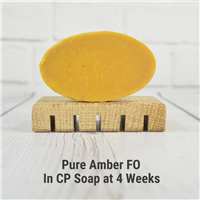 Pure Amber FO in CP Soap