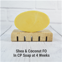 Shea & Coconut FO in CP Soap