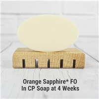 Orange Sapphire* FO in CP Soap