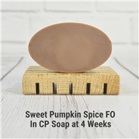 Sweet Pumpkin Spice FO in CP Soap
