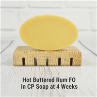 Hot Buttered Rum FO in CP Soap